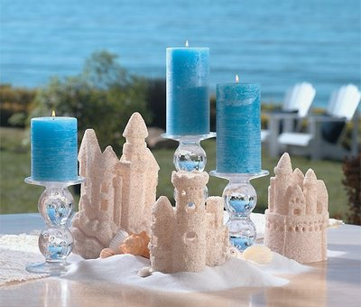 Beach Wedding Reception Decorations on Using Beach Decor For Your Wedding