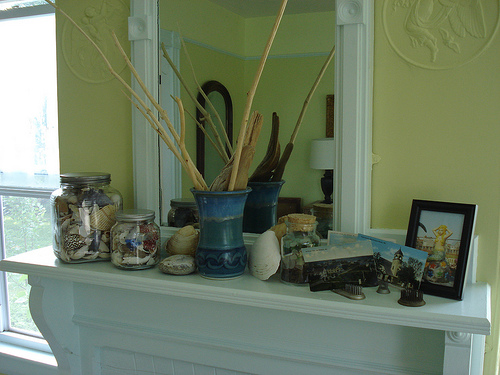 Ideas for Decorating a Fireplace Mantel for Summer ~ 141146_Fireplace Mantel Decorating Ideas For Summer