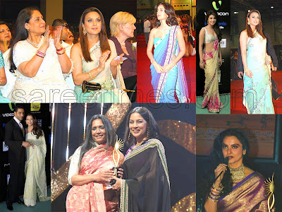 Bollywood Fashion Sarees on Sarees At Iifa   Sareetimes Com Daily Dose Of Latest Saree Fashion And