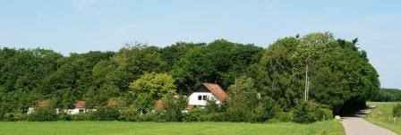 Accommodation close to Vejen in South Jutland in Denmark