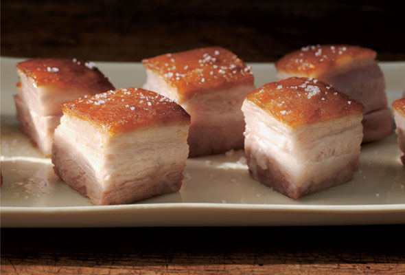 how to keep crispy pork belly overnight