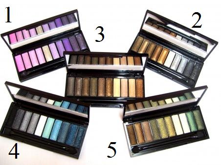 M.A.C eyeshadow 10 colour RM20