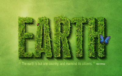 Grass Text Effect in Photoshop tutorial