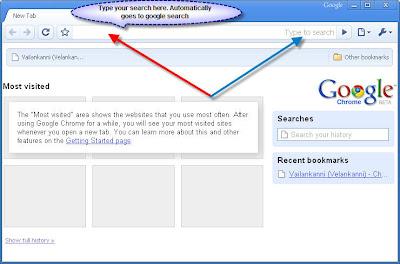 Google Toolbar in Google Chrome Browser