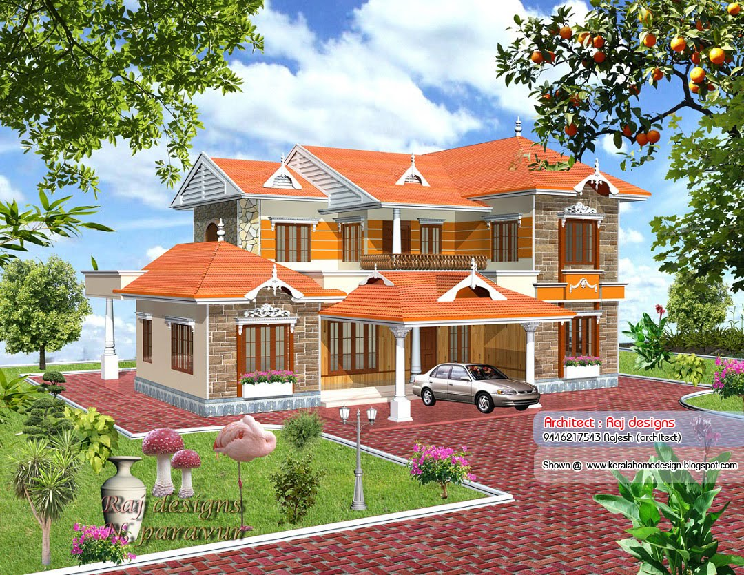 May 2010 kerala home design and floor plans for Home designs in kerala