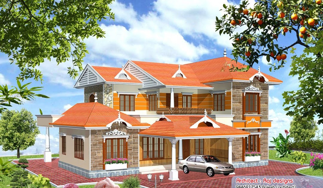 3000 sq feet kerala style home design home appliance for Home designs 3000 square feet
