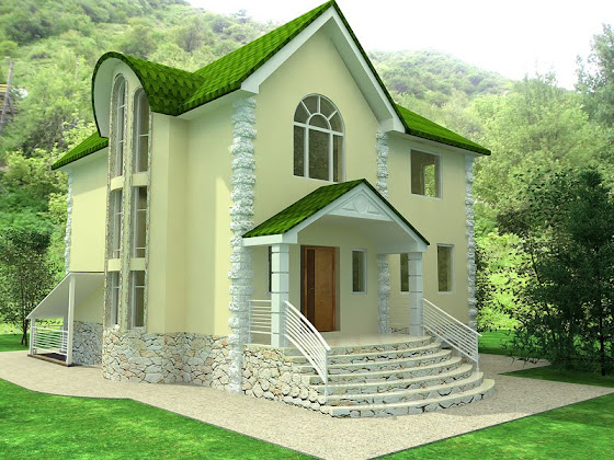 Unique beautiful home exterior design keralahousedesigns for European home designs