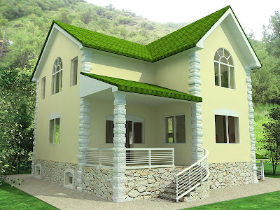 Some beautiful house designs - Kerala home design and floor plans