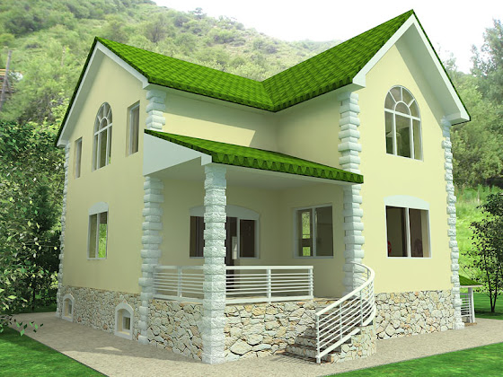 Some beautiful house designs kerala home design and for Some beautiful houses