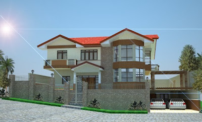 "2comments on ""Beautiful House elevation designs Gallery"""