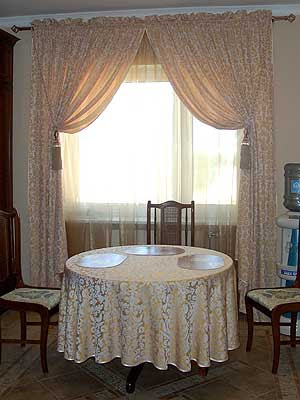 dining room curtains 09 photos kerala home design and floor plans