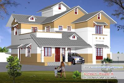 Kerala Home Design Elevation