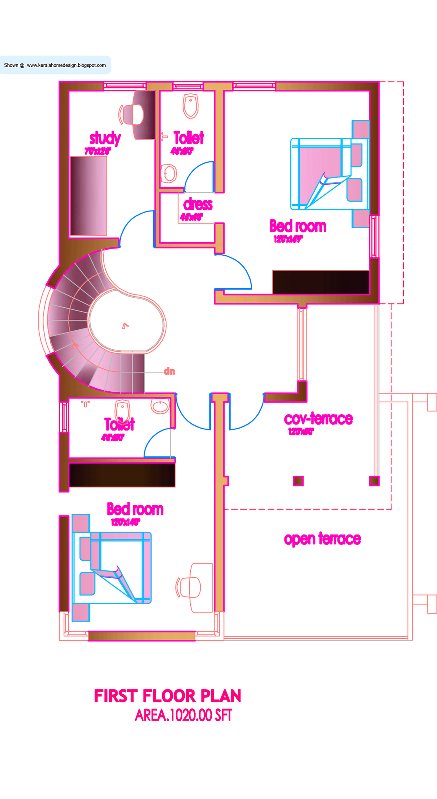 House Floor Plans Under 1000 Sq FT