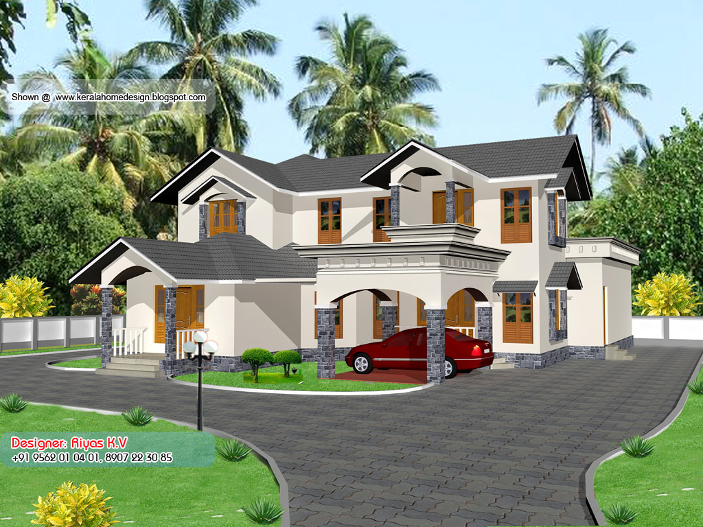 Kerala home plan and elevation 2850 sq ft home appliance for Kerala house plans and elevations