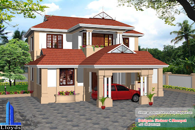 August 2010   Kerala home design and floor plans
