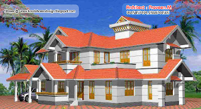 Home plan and elevation - 2604 Sq. Ft