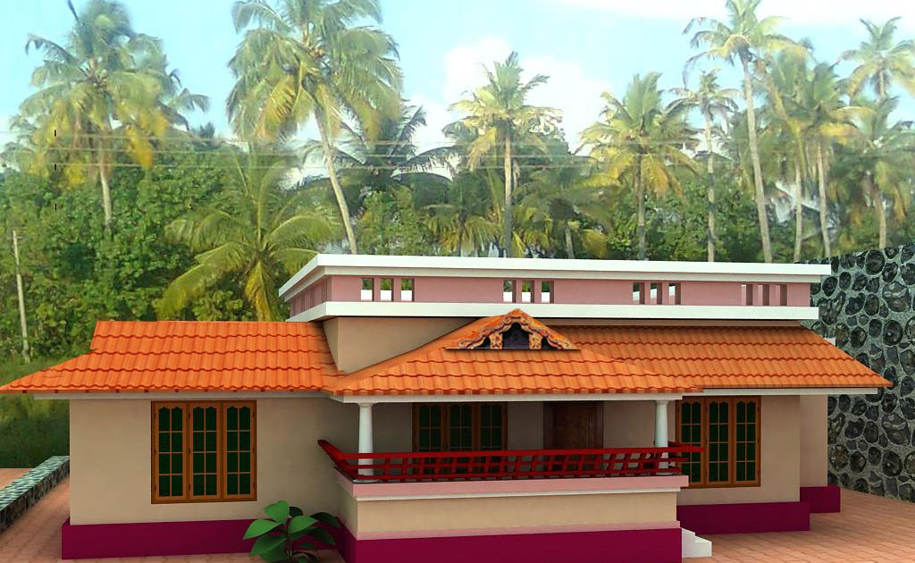 28 Home Plan And Elevation 1000 Kerala Home Plan