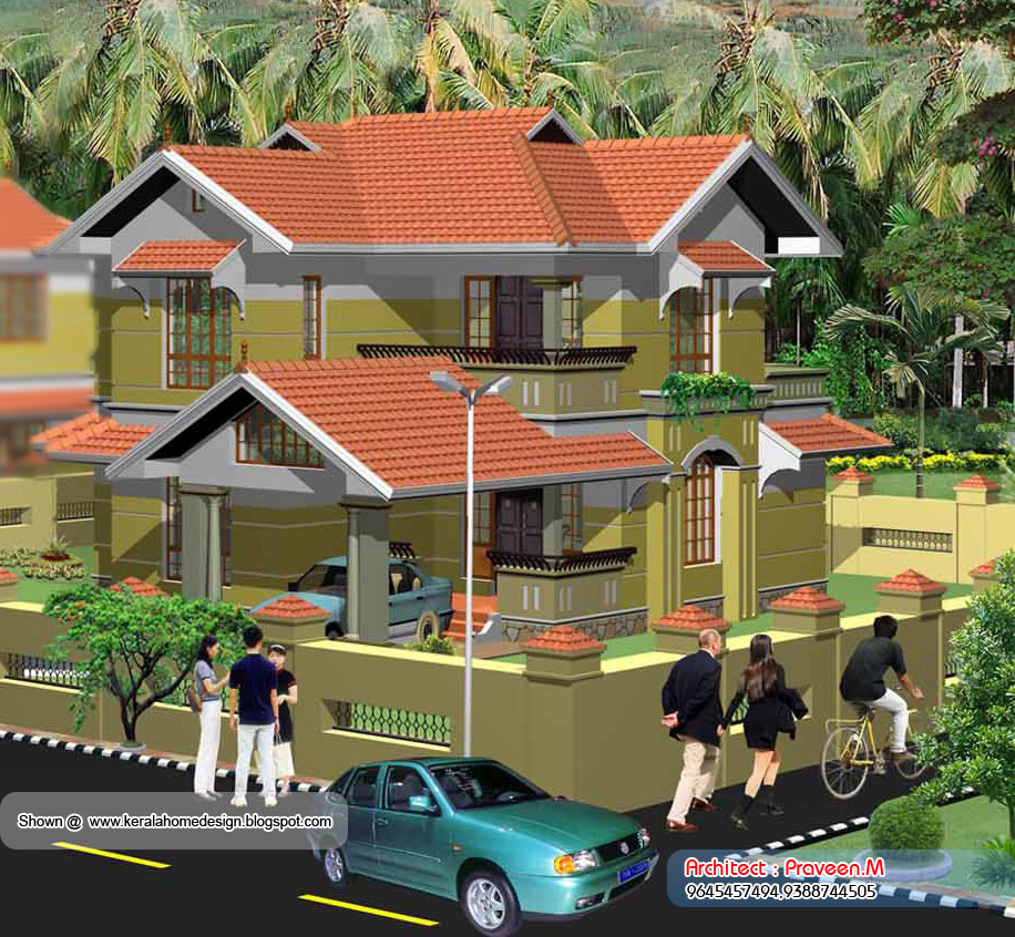 Home plan and elevation - 2013 Sq. Ft | home appliance