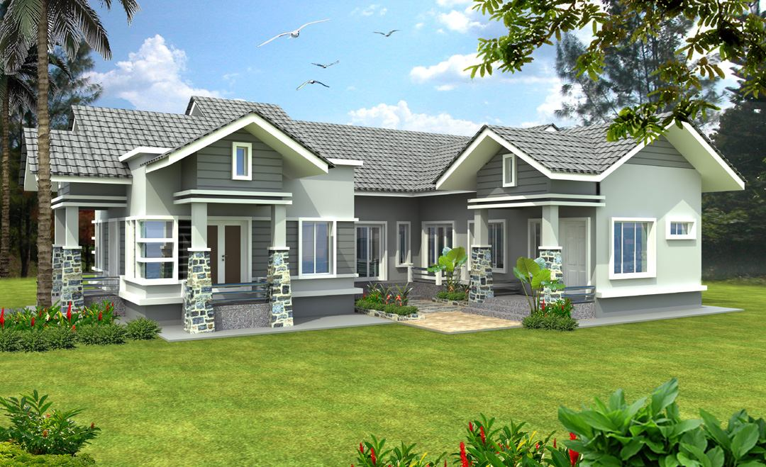 23 awesome elevations of house kerala home design and for Bungalow plans and elevations