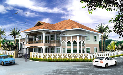 elevation of house