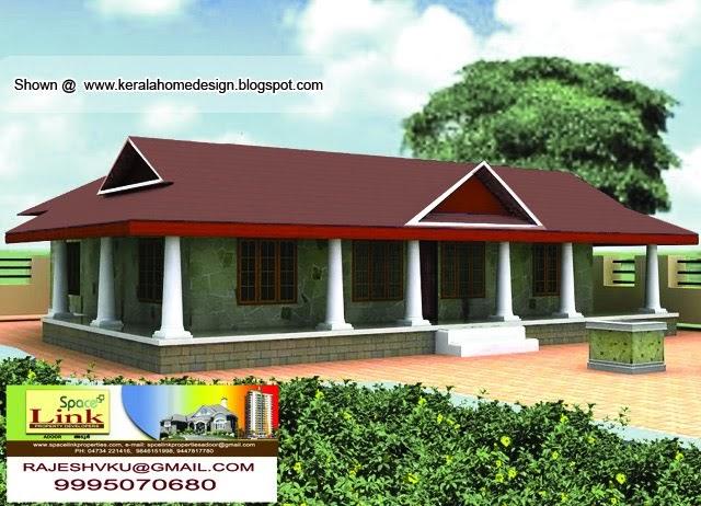 Kerala traditional nalukettu house kerala home design for Veedu elevation kerala