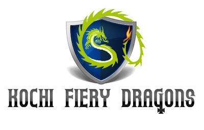 Kochi IPL logo Concept - Kochi Fiery Dragons