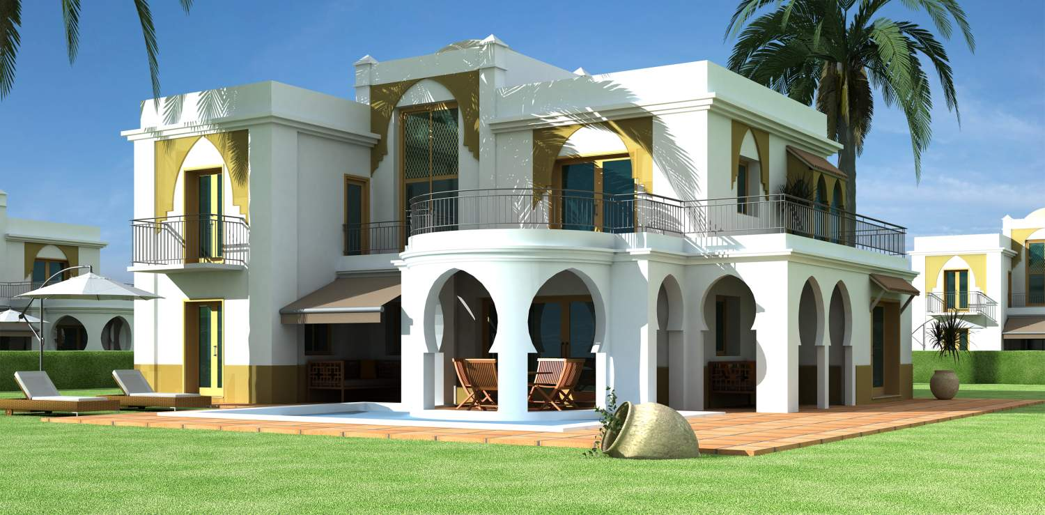December 2010 kerala home design and floor plans for Villa architecture design plans