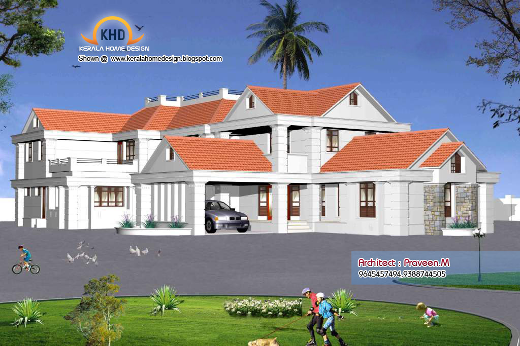 Some kerala style sweet home 3d designs home appliance House designer 3d