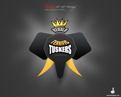 Kerala Tuskers - Kochi IPL Logo