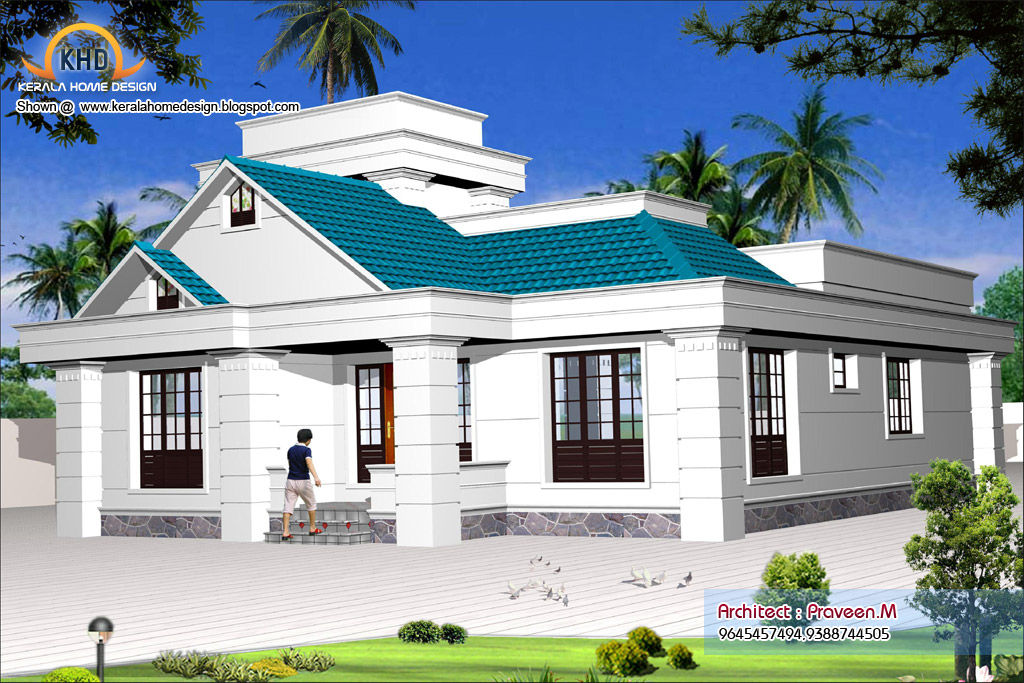 Small One Story House Plans
