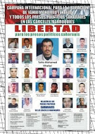 LIBERTAD A LOS PRESOS SAHARAUIS