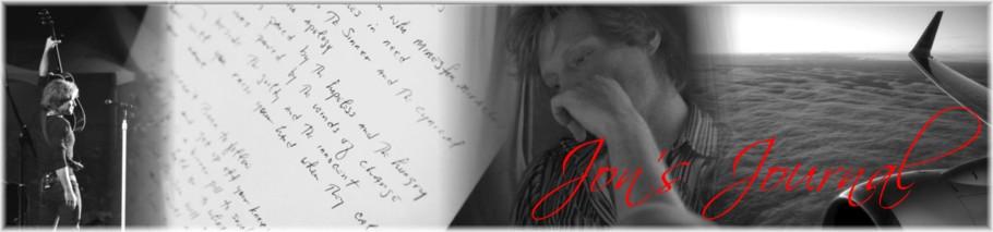 Jon's Journal