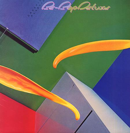 Be-Bop Deluxe - Drastic Plastic album cover