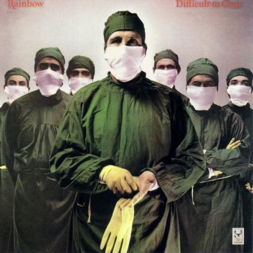 Rainbow - Difficult to Cure album cover
