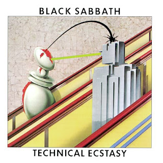 Black Sabbath - Technical Ecstasy album cover