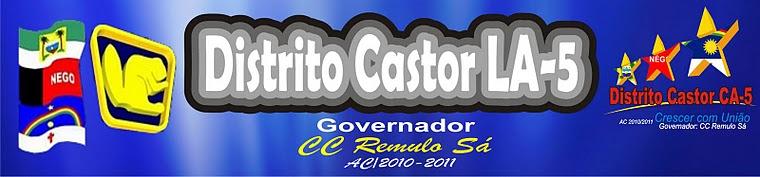 CLUBES DE CASTORES DO DISTRITO LA-5