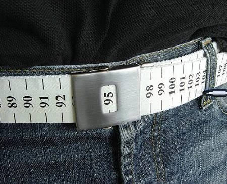 cinturon metrico