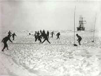 atrapados hielo
