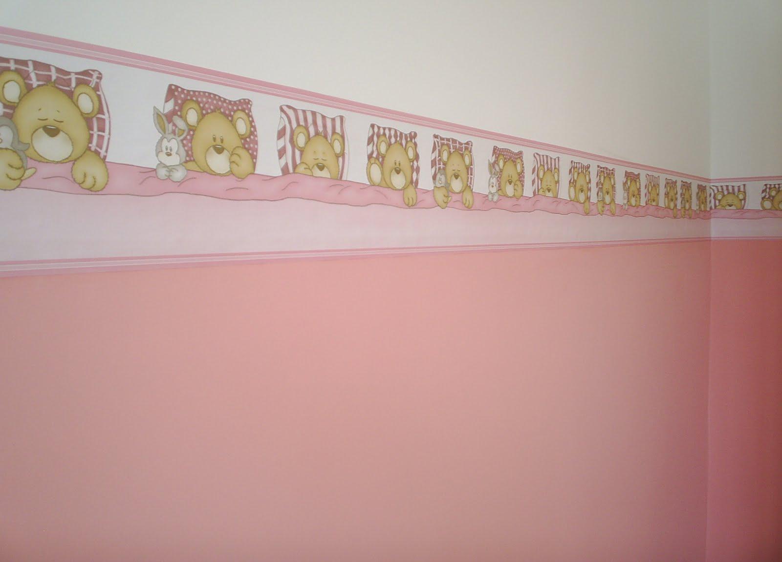 Jacques papel de parede quarto infantil - Papel infantil para paredes ...