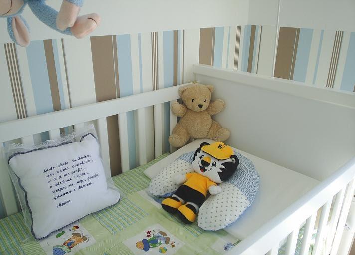 Jacques papel de parede quarto de beb - Papel pared bebe ...