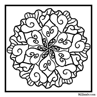 Valentines Coloring Pages on Girls Love Coloring Pages Like These  Even My 10 Year Old Will Color