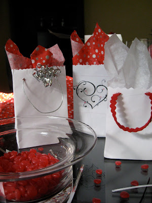 Homemade Valentine Gift Bags Made From Envelopes