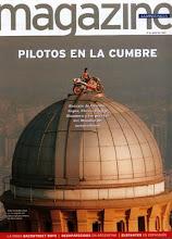 Portada de La Vanguardia <br> Imagen real de Álex Crivillé campeón del mundo