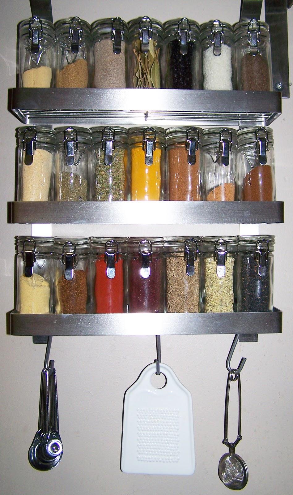 kitsch & kitchen: nice (spice) rack