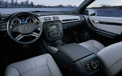 2011 mercedes benz r class interior