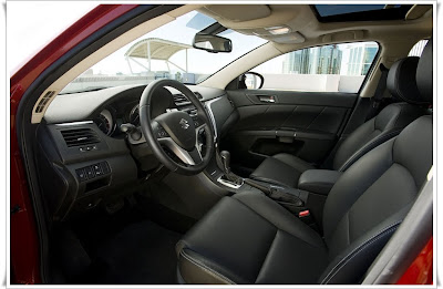 2011 suzuki kizashi car seats
