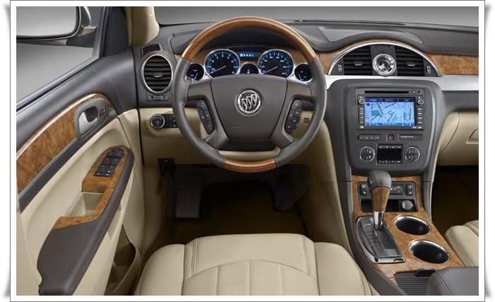 Buick Enclave 2010. Buick Enclave Interior