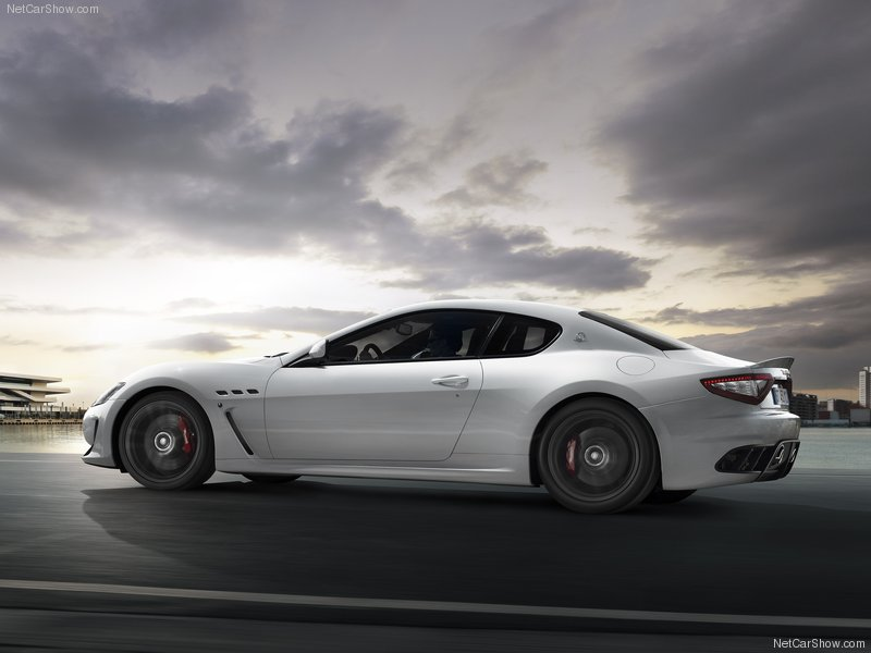 The Maserati GranTurismo MC Stradale is also the first Maserati in history