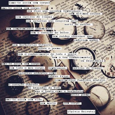 poema visual de sylvia beirute