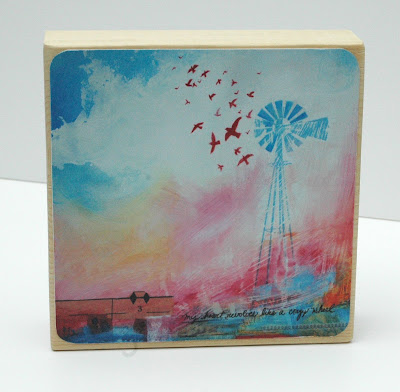 art block,painting,gallery,exhibit,jensingh,windmill,revolve,whimsical